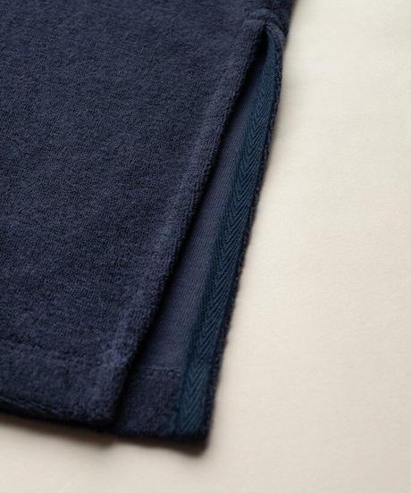 KLOKE /  ENGULF TOWELLING DRESS -INK-