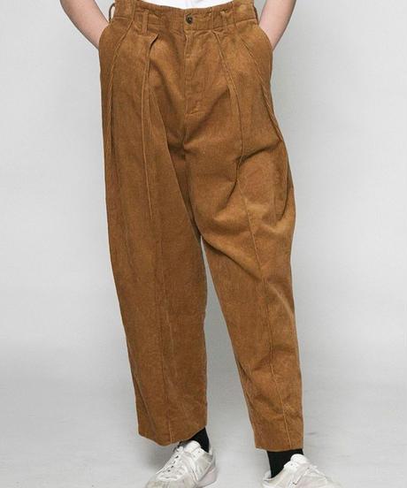 VOAAOV / washing corduroy wide pants