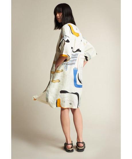 KLOKE / ASTRAL DRESS VISAGE PRINT