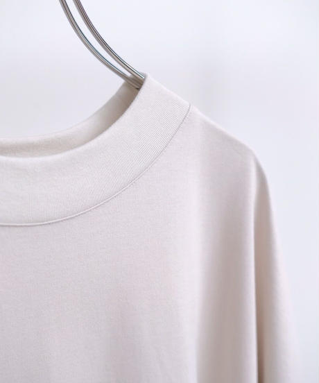 VOAAOV Seasonless Cotton Jersey BIG TEE-LIGHT GREY-