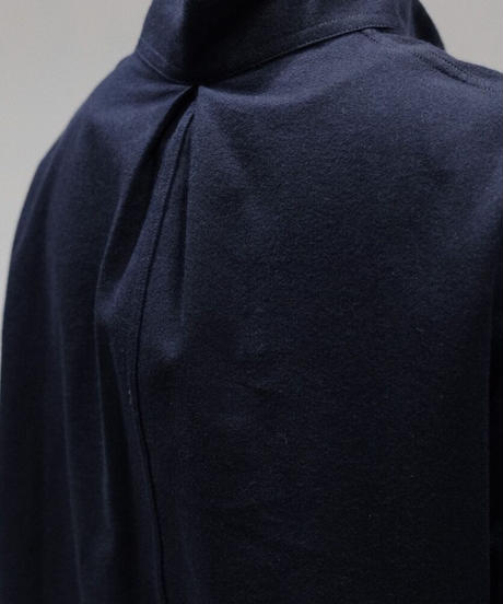 A STATE OF NATURE / NICK SHIRT -SOFT BRUSHED  COTTON IN NAVY-