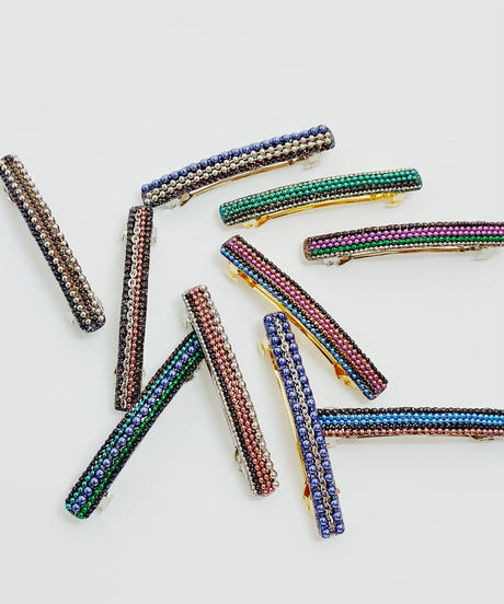 COLOR CHAIN BARRETTE 02