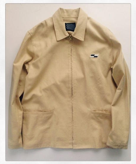 COMPETITION  JACKET  Basket weave cotton LIMITED EDITION CREAM