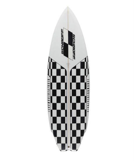 "5'4"" HIGH  PERFORMANCE  ""TAMMA""  Air brushed & Hand shaped by Peter Schroff"