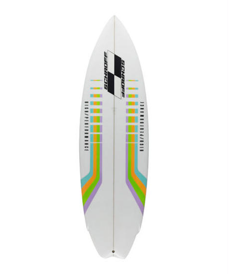"6'0'' HIGH PERFORMANCE    ""Brenda""  Air brushed & Hand shaped by Peter Schroff"