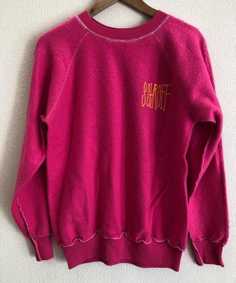 VINTAGE RAGLAN SWEAT SHIRTS    Pink