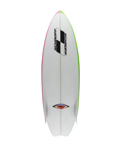 "5'5"" Circa 80's  HIGH  PERFORMANCE  ""Betty"" Air brushed & Hand shaped by Peter Schroff"