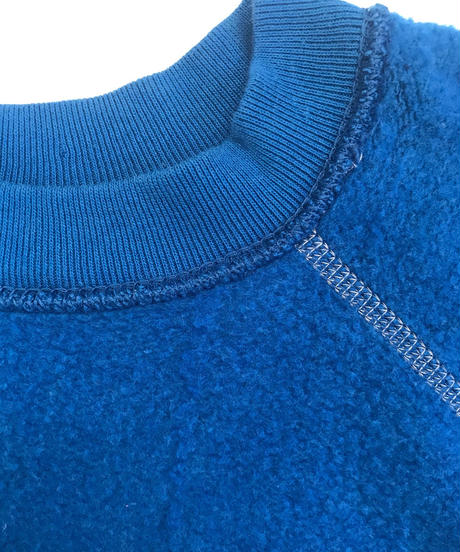 Vintage raglan sweat shirts  Blue