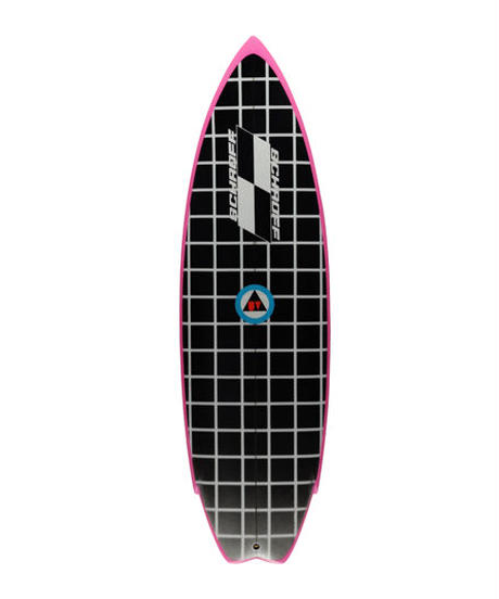 "5'4"" Circa 80's HIGH PERFORMANCE  ""Jody"" Air brushed & Hand shaped by Peter Schroff"