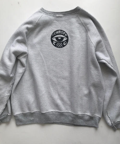 Vintage raglan sweat shirts   Ash x white