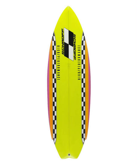 "5'6"" HIGH  PERFORMANCE   ""Karen""  Air brushed & Hand shaped by Peter Schroff"