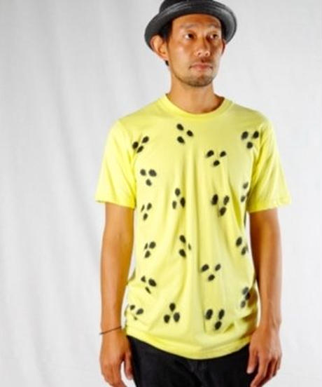 """Cheetah ""  T-Shirts  (Lemon)with Limited box"