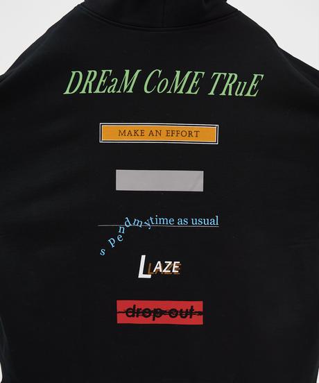 【11.25(wed)21:00-RE-STOCK】DREAMS COME TRUE BIG ZIP PARKA(Black)