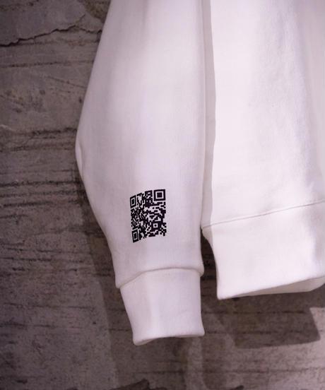 "【2021.3.6(sat)21:00-PRE-ORDER】HAZUKI×SEASON  COLAB ""ART"" SWEAT(White)"