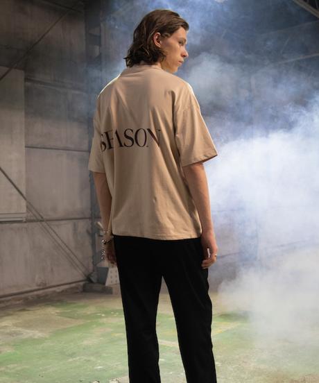 【2019.9.21 (sat) 21:00-】SEASON  Logo  Tee  (Beige)