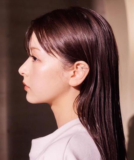 "【2021.3.6(sat)21:00-PRE-ORDER】HAZUKI×SEASON COLAB ""ART""  PIERCE/EARCUFF SET"
