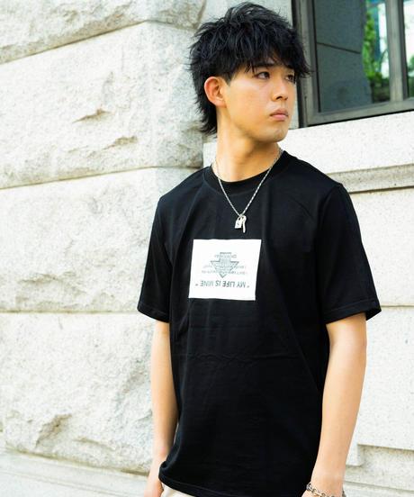 【2021.5.28(Fri)21:00‐PRE-ORDER】MY LIFE TEE(BLACK)