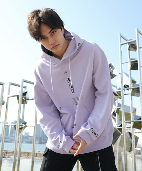 【入荷】INTERSECTING COLOR PARKA (Purple)