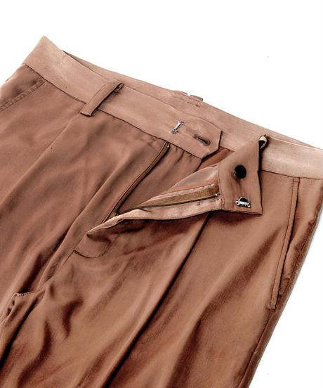 【入荷】SET UP Tuck Slit PT(Brown)