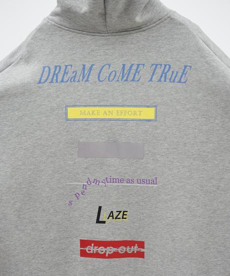【11.25(wed)21:00-RE-STOCK】DREAMS COME TRUE BIG ZIP PARKA(Gray)