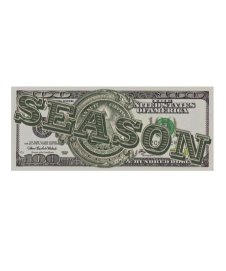 【入荷】$EA$ON Counterfeit bill-Sticker
