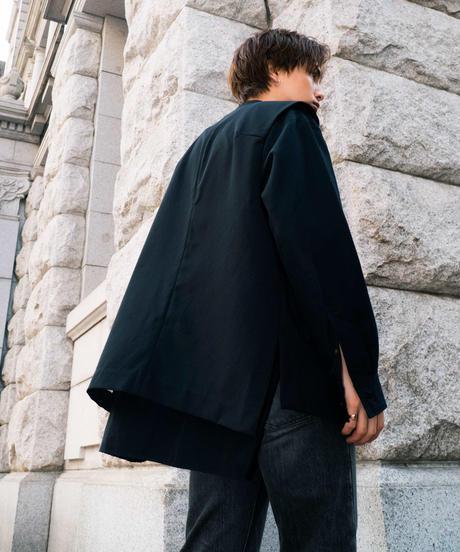 【2021.5.15(sat)21:00-PRE-ORDER】MY WAY SEMI-DOUBLE  VEST(BLACK)
