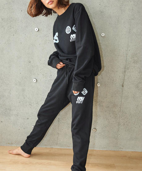 SSN Sweat pants(Black)
