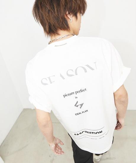 【6.13(sat)21:00-再販】PLAN  LOGO T (White)