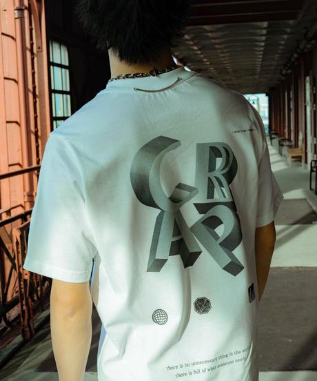 【2021.5.28(Fri)21:00‐PRE-ORDER】CLAP× CRAP TEE(WHITE)
