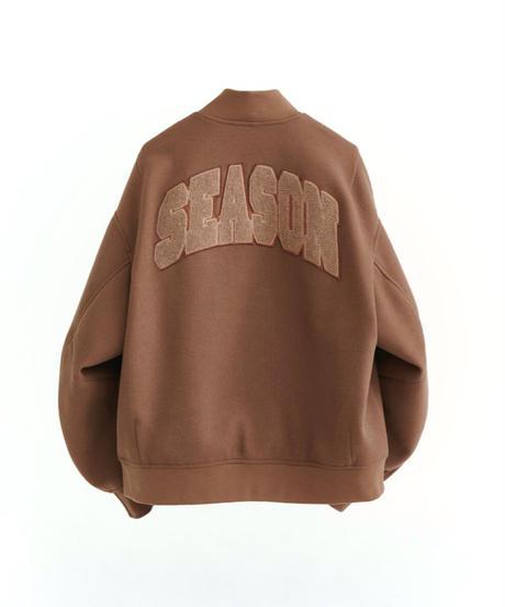 【STOCK】BIG LOGO STADIUM JUMPER(Brown)
