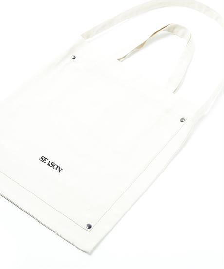 【入荷】SEASON TOTE BAG(Ivory)
