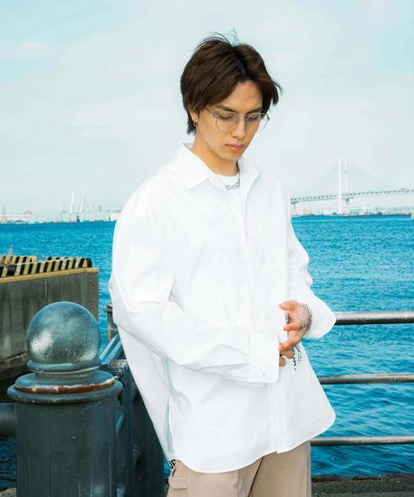 【2021.5.15(sat)21:00-PRE‐ORDER】MY LIFE SHIRTS(WHITE)