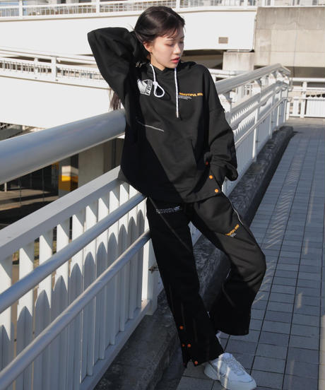 【2021.2.23(tue)21:00-PRE-ORDER】BEAUTIFUL MIND PANTS(Black)
