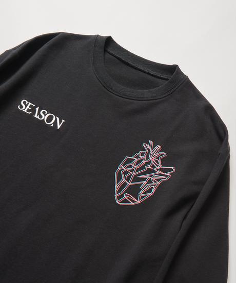 SEASON BPM-graphic Long-T(Black)