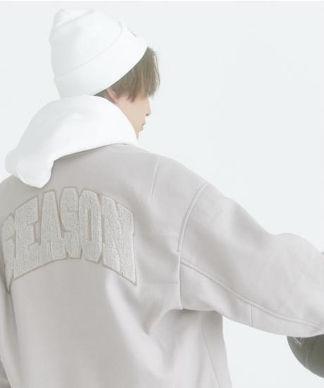 【STOCK】LOGO KNIT CAP(WHITE)