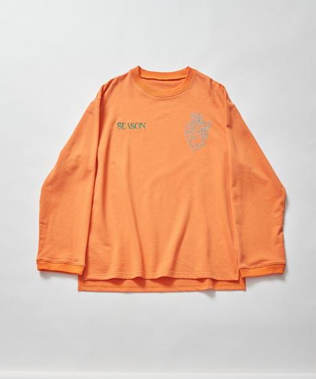 【2021.3.3(wed)21:00-PRE-ORDER】SEASON BPM-graphic Long-T(Orange)
