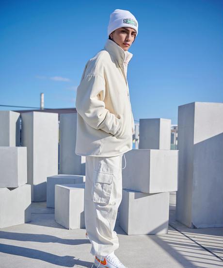 【2020.11.28(sat)21:00-PRE ORDER】BOA REVERSIBLE JACKT(White)