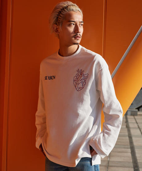 【2021.3.3(wed)21:00-PRE-ORDER】】SEASON BPM-graphic Long-T(White)
