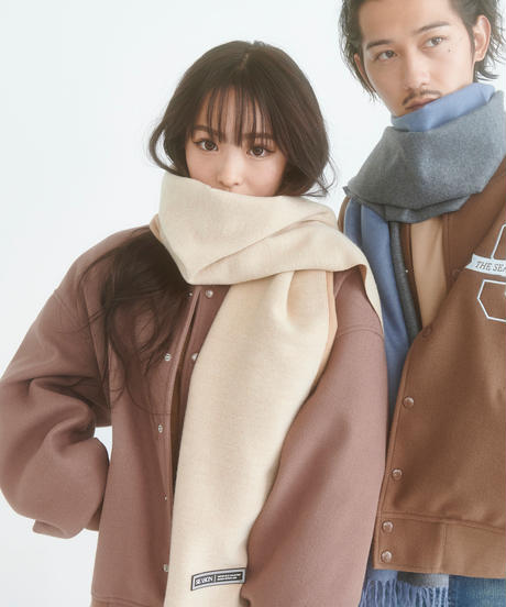 【2020.11.14(sat)21:00-PRE ORDER】Bi-color Stole(Brown)