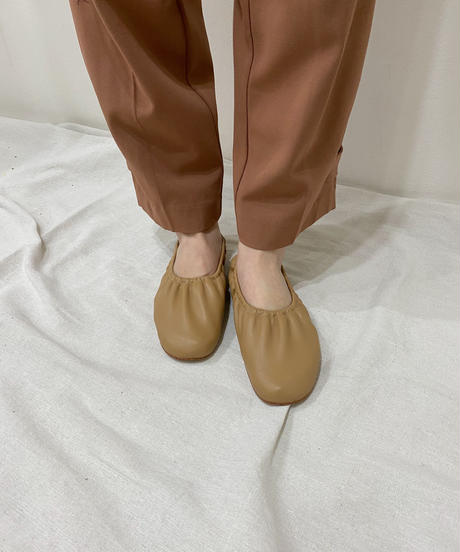 shirring ballet shoes