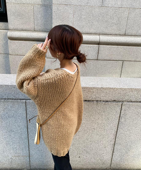 hand made over knit