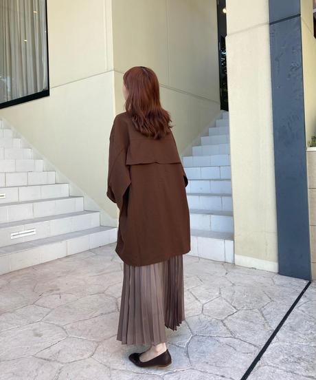 shiny pleats skirt