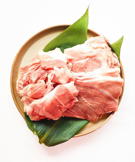 うめぶた/バラ・小間切れセット(合計1.1kg冷凍クール便)