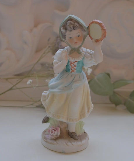 VTG german porcelain doll