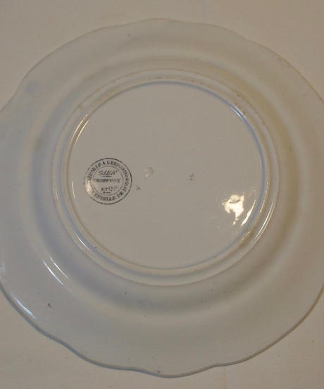 french gien plate