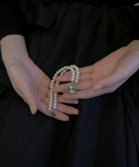 VTG pearl motif bracelet