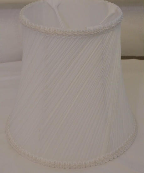 VTG white shade lamp