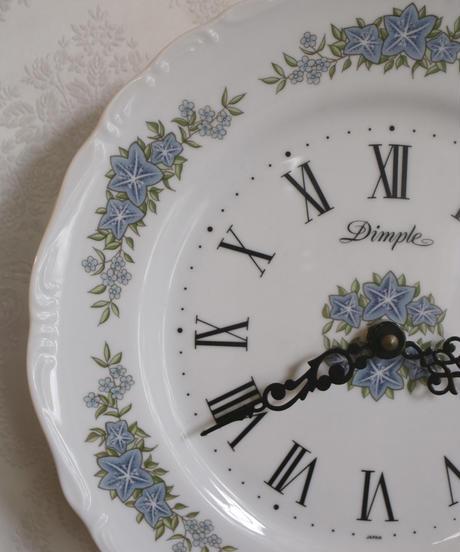 """DIMPLE""  porcelain wall o""clock"