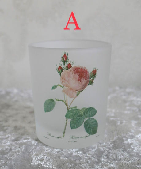 IMPORT rose candle holder