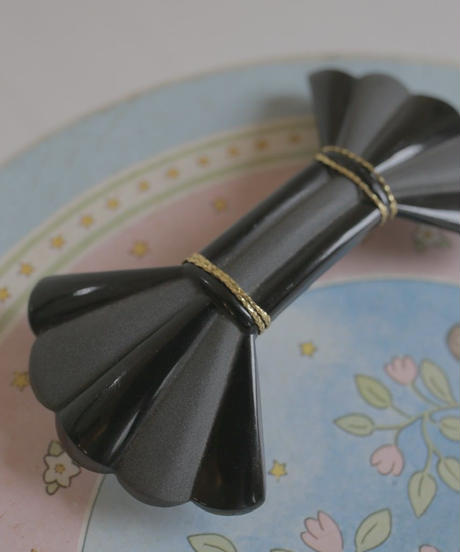VTG french celluloid barrette